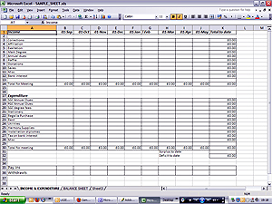 Sample Spreadsheet for Treasurer's,Provincial Grand Royal Arch ...